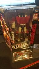Transformers War for Cybertron Siege Sideswipe with toyhax reprolabels sheet