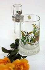 Bierkrug Sammlerkrug Bierseidel ALWE edles Design mini Bierkrug 95% Zinn 15 cm