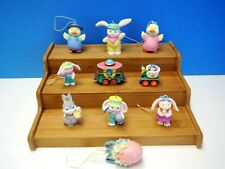 10 Hallmark Easter Ornaments, No Boxes
