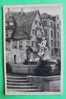 AK Stuttgart 1920er Alexanderbrunnen Künstler D. Stocker Hausansicht Gebäude W1