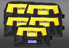 "Dewalt 12"" Heavy Duty Ballistic Nylon Tool Bag (5-pack)"