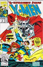 X-Cutioner's Song Part 7 X-Men Marvel Comics Book
