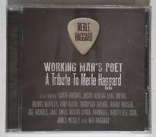 Working Man's Poet - A Tribute to Merle Haggard BB-63772 US CD, Album SEALED