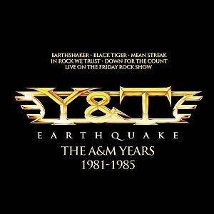 Y&T - EARTHQUAKE-THE A&M YEARS  (4 CD)  HARD & HEAVY / METAL  NEUF
