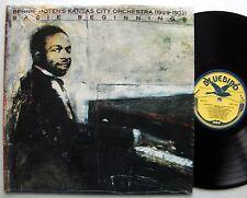 Bennie MOTEN's KANSAS CITY Orch (1929-32) Basie beginnings US LP BLUEBIRD-shrink