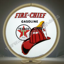 TEXACO FIRE CHIEF GASOLINE GAS PUMP GLOBE OIL FREE S&H