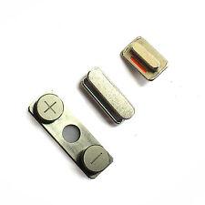 100% Genuine Apple iPhone 4 side buttons power volume rocker lock mute switch