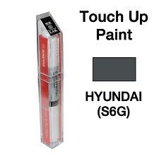Hyundai OEM Brush&Pen Touch Up Paint Color Code : S6G - Boulder Gray