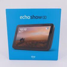 Amazon Echo Show 8 Smart Display mit Alexa 1. Gen. 2019 HD-Bildschirm anthrazit