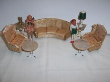 Vintage Petite Princess Dollhouse Furniture by Ideal, Lot #3