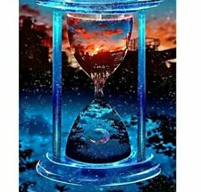 Glass Hour Artwork Diamond Painting Artistic Design Embroidery House Decorations