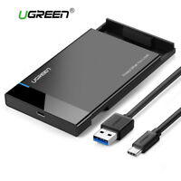 Ugreen Enclosure USB 3.1 Type C SATA External Hard Drive Disk Case Adapter UASP