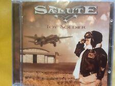 SALUTE.            TOY.   SOLDIER.        ESCAPE.  MUSIC. LABEL.
