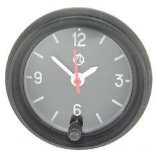 Black Car Dashboard Clock Automotive 12 v with Backlight LED Light Set Analog