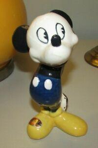 Great! 40's Disney Mickey Mouse Evan K Shaw American Pottery California Figurine