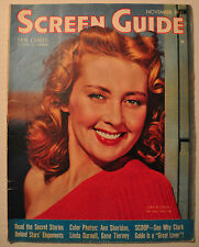SCREEN GUIDE MAGAZINE NOVEMBER 1941 Vol. 11 No. 7 JOAN BLONDELL LUCILLE BALL