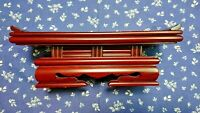 Japanese Buddhist Altar Fitting Vtg Wood Lacquer Offering Table
