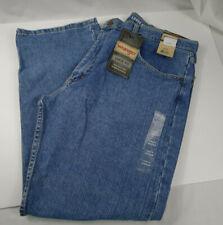 Men's Wrangler Loose Fit Jeans 100% Cotton Denim 38 x 30 Straight Leg