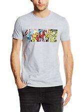 Marvel Comic Strip Logo T-shirt Homme Grey (sport Grey) Medium