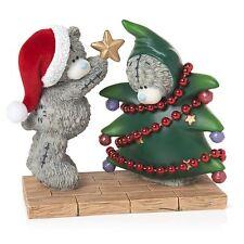 Me to You Dressing the Christmas Tree Figurine Xmas - Tatty Teddy Bear