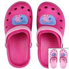 PEPPA PIG Hausschuhe Pantoffeln Clogs Gr. 25-32 Badeschuhe Mädchen Kinder NEU