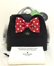 New Kate Spade Disney Minnie Mouse Small neema Backpack Purse Bag Black PXRU8273