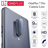 For OnePlus 7 Pro Back Rear Camera Lens Genuine Tempered Glass Protector Clear