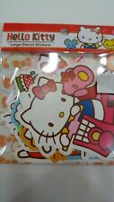 2019 Sanrio Hello Kitty Large Diecut Stickers Set Sack Pack 10 pcs ~ NEW