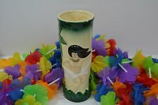 Vintage Sail with Harveys Topless Hula Girl Tiki Mug w/Palm Trees