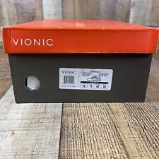 Vionic NEW Mens SZ 12 Walker Leather Sneakers Trainers  Comfort Shoes