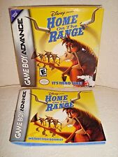 DISNEY HOME ON THE RANGE Nintendo 2004 Game Boy Advance/GBA ~ MANUAL & BOX ONLY!