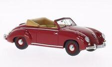 BoS-Models 1/43  VW Dannenhauer und Stauss Cabrio, dunkelrot 1951