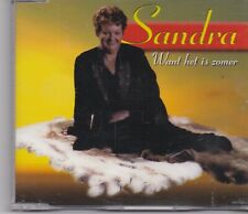 Sandra-Want Het Is Zomer cd maxi single