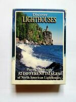 Discover Lighthouses Playing Cards 52 American Lighthouses w/ jokers Free Shipp.