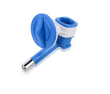 Water Nozzle for Dog Crate water bottles - No Drip  (Blue)