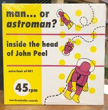 "MAN OR ASTROMAN Inside The Head Of John Peel  2x 7"" 45 NEW LIVE VINYL AF-001"