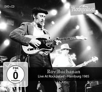 ROY BUCHANAN - LIVE AT ROCKPALAST   CD+DVD NEW
