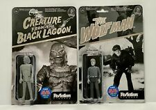 """Funko/Super 7 - Wolfman + Creature 3.75"""" NYCC Exclusive ReAction Figures MOC"""