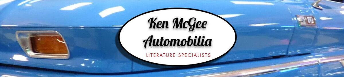 Ken McGee Auto Literature