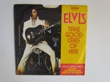 ELVIS PRESLEY - 45 RPM - TAKE GOOD OF HER - RCA APB0-0196 W/PICTURE SLEEVE