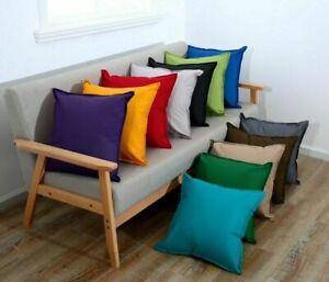 Waterproof Garden Cushion Covers Furniture Seat Indoor Outdoor 60 x 60cm 45 x 45