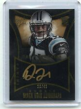 """2015 BLACK GOLD #RAU-DF DEVIN FUNCHESS """"GOLD INK"""" AUTOGRAPH RC #28/49, PANTHERS"""