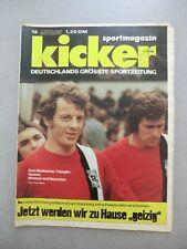 Kicker SportmagazinNr.12 – 4.2.1974  Danner – Wimmer – Heynckes