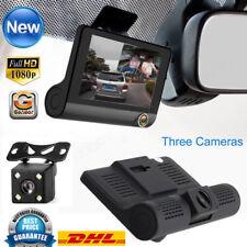 HD 1080P Dual Lens Auto DVR Rearview Camera Video Dashcam Recorder KFZ Kamera