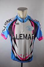 Pierre alemar Team desenzanese bike Cycling Jersey maglia rueda camiseta talla XL g-01