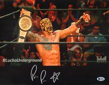 Prince Puma Signed 11x14 Photo BAS COA Lucha Underground Ricochet Wrestling PWG