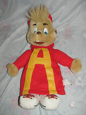 """Vintage 1993 Alvin and the Chipmunks Plush/Puppet figure 17""""-18"""" tall"""