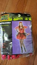 New Womens Totally Ghoul Devilicious Halloween Costume Size XL