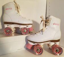 Chicago Girls Rink Skates White/Pink Size- J13