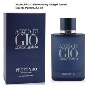 Giorgio Armani Acqua di Giò Profondo 2.5 oz Eau de Parfum Spray for Men